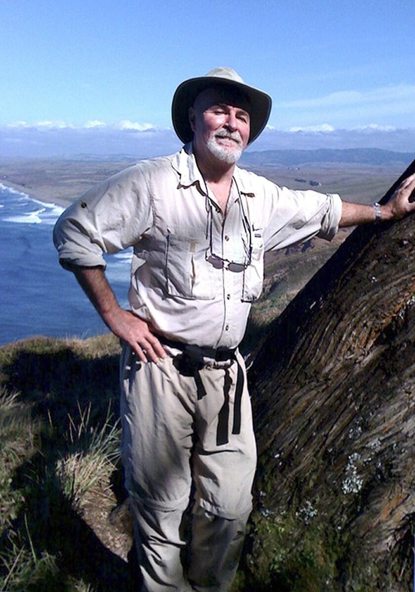 Paul McHugh, outdoors writer, at Point Reyes National Seashore.