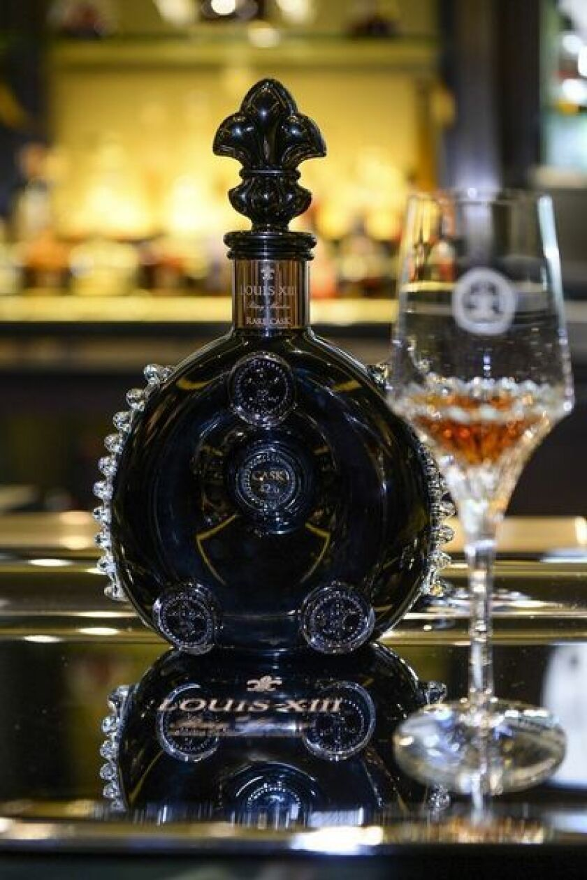 A Bottle Of 22 000 Cognac Arrives At The Four Seasons Los Angeles Times