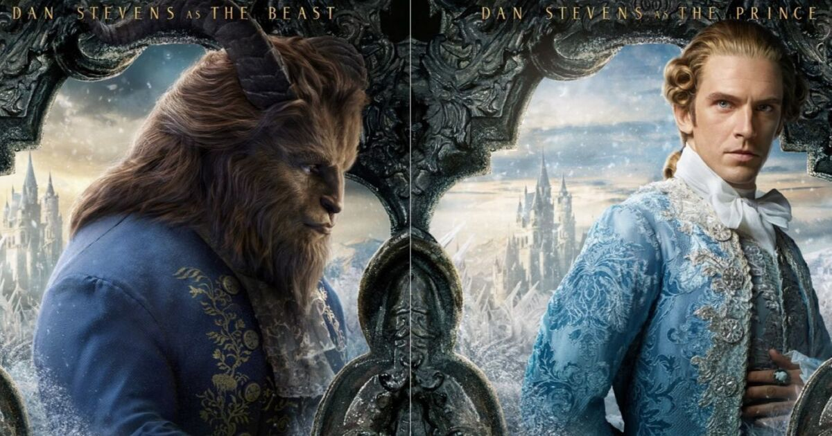Dan Stevens channels his beastly side in 'Beauty and the Beast