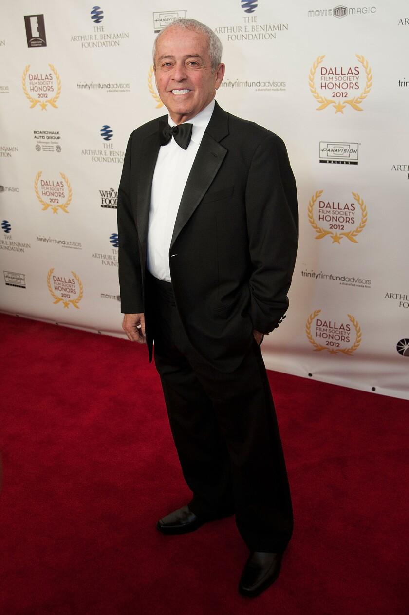 Film producer Robert Schwary