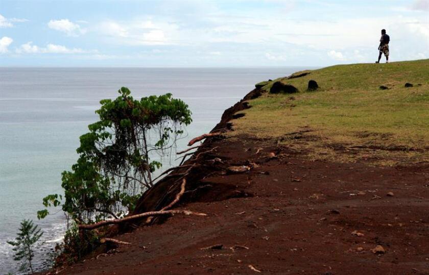 Un terremoto de magnitud 7,7 en las escala Richter hizo temblar hoy las Islas Salomón, en el Pacífico Sur, y obligó a emitir un aviso de tsunami, informó el Servicio Geológico de Estados Unidos (USGS). EFE/ARCHIVO
