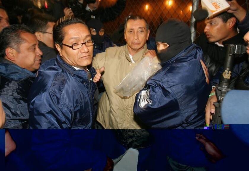 La Procuraduría General de la República (PGR, fiscalía) de México se apresta a recibir a Mario Villanueva Madrid, exgobernador de Quintana Roo, cuando sea deportado por Estados Unidos para ejecutar la orden de detención que existe en su contra, informó hoy la institución. EFE/MVT/SOLO USO EDITORIAL