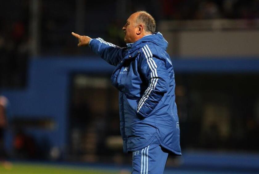 El entrenador de Palmeiras Luiz Felipe Scolari. EFE/