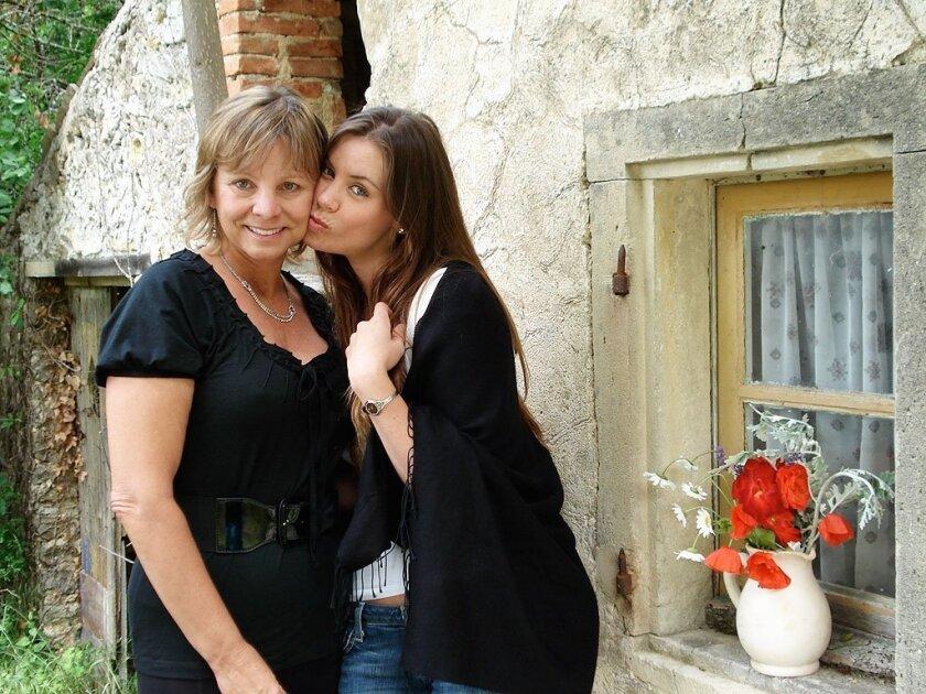 Debbie Ziegler and her daughter, Brittany Maynard