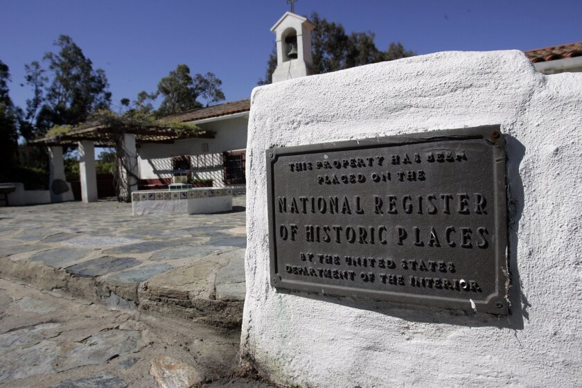 The 170-year old Santa Margarita y Las Flores Ranch House, originally owned by Pio Pico, Mexico's last governor of California, has been home to 35 Marine Corps generals. Charlie Neuman U-T