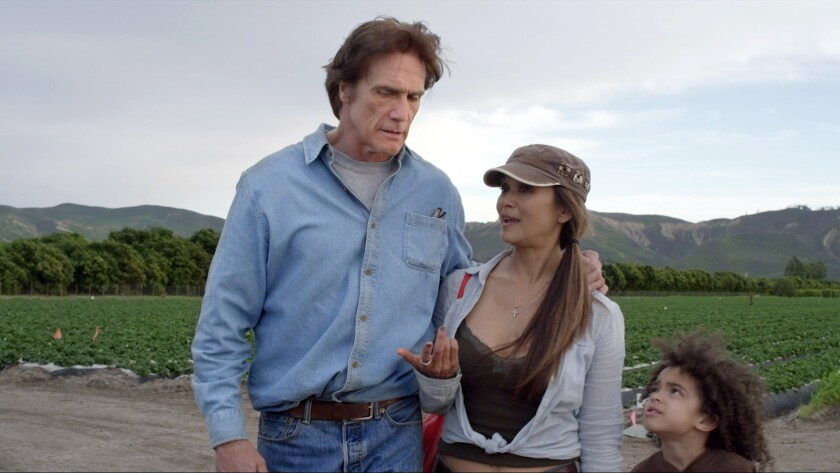 """(L-R) - Barry Van Dyke, Nia Peeples and Jayden Mound in """"The Untold Story (2019)."""" Credit: Ammo Cont"""