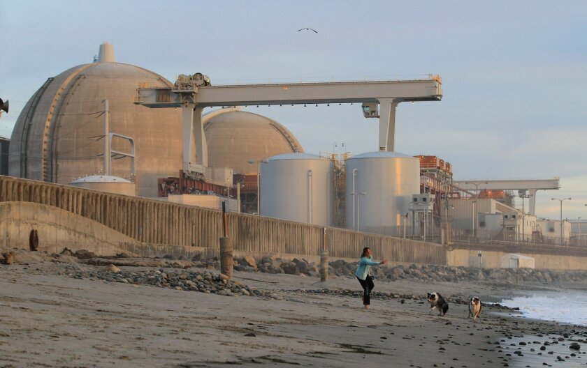 The San Onofre plant has been shut down for more than a year since the discovery of rapid deterioration in its new steam generators. CHARLIE NEUMAN • U-T