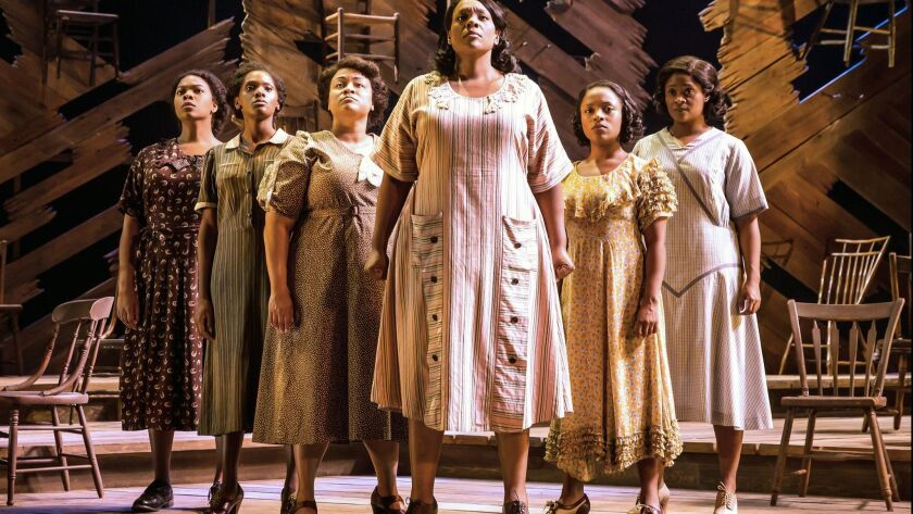 "Segerstrom Center for the Arts presents, ""The Color Purple"" through June 24. (Photo by Matthew Murp"