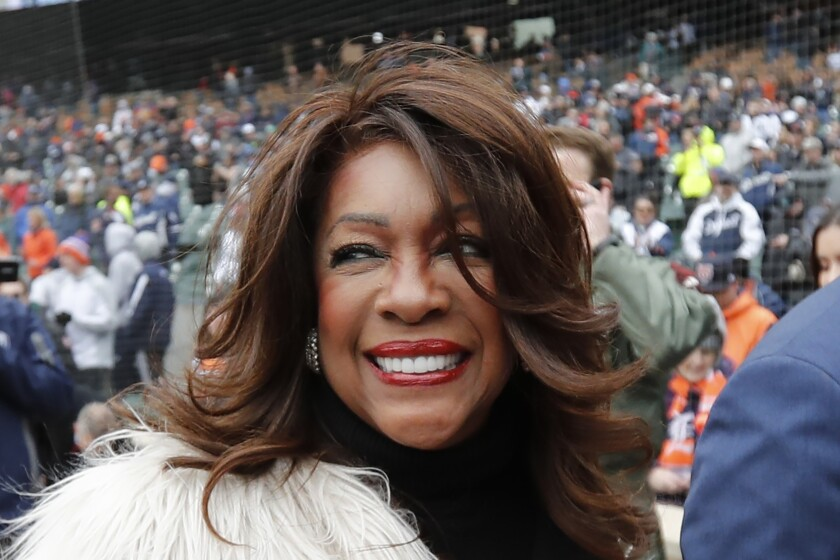 Mary Wilson, a former member of The Supremes