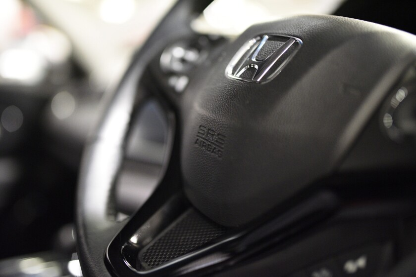 Honda Motor Co. said it is investigating what may be a fourth death from a faulty airbag in its cars.