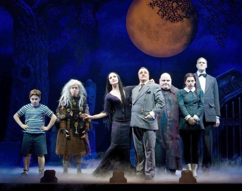 The Addams Family Had A Rough Move In Los Angeles Times