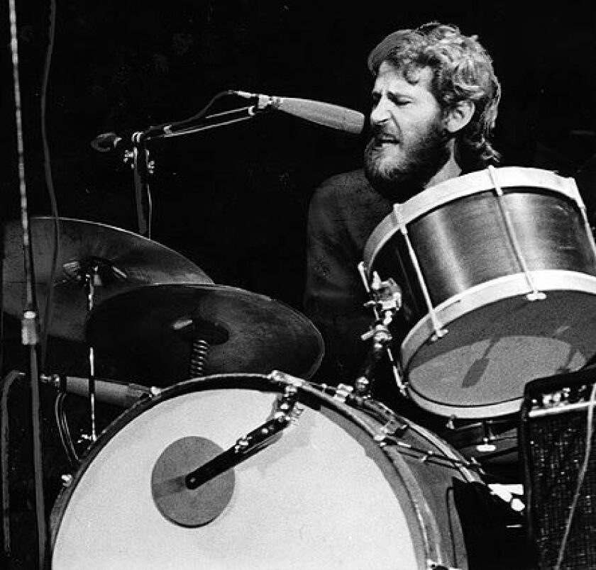 Levon Helm of rock's the Band dies at 71 - Los Angeles Times