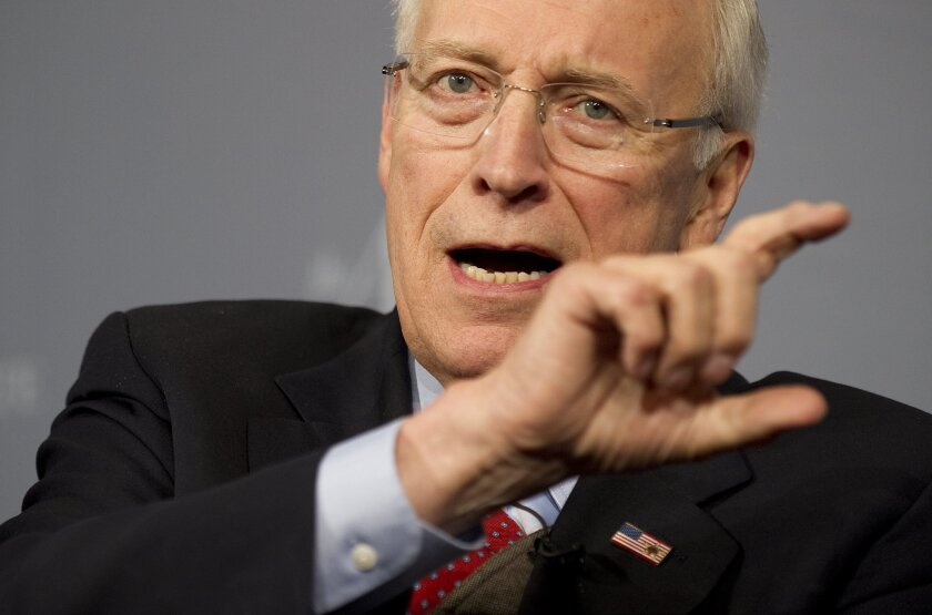 """Former Vice President Dick Cheney, shown in 2011, called the Senate Intelligence Committee report """"a cheap-shot piece of political business."""