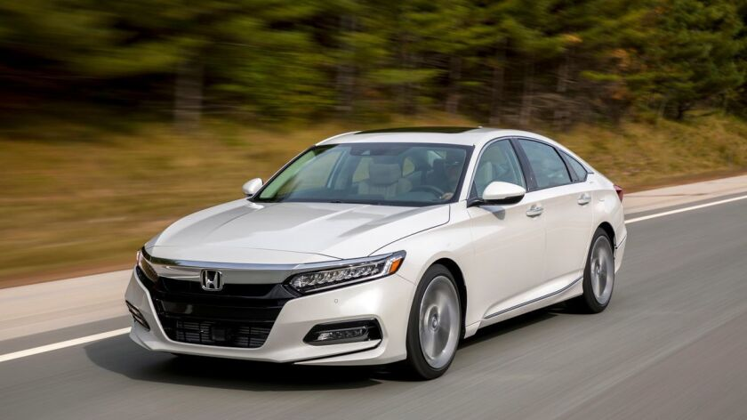 The 2018 Honda Accord Touring 1.5T is an ingenuously engineered automotive product that does everything a car should do -- except feel like a car.