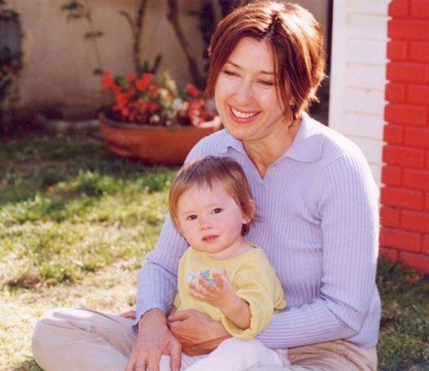 Christine Maggiore and daughter