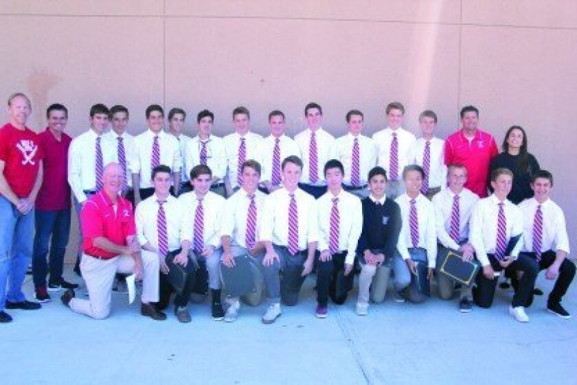 The Canyon Crest Academy soccer team earned the highest GPA of any soccer team in North Coast San Diego.