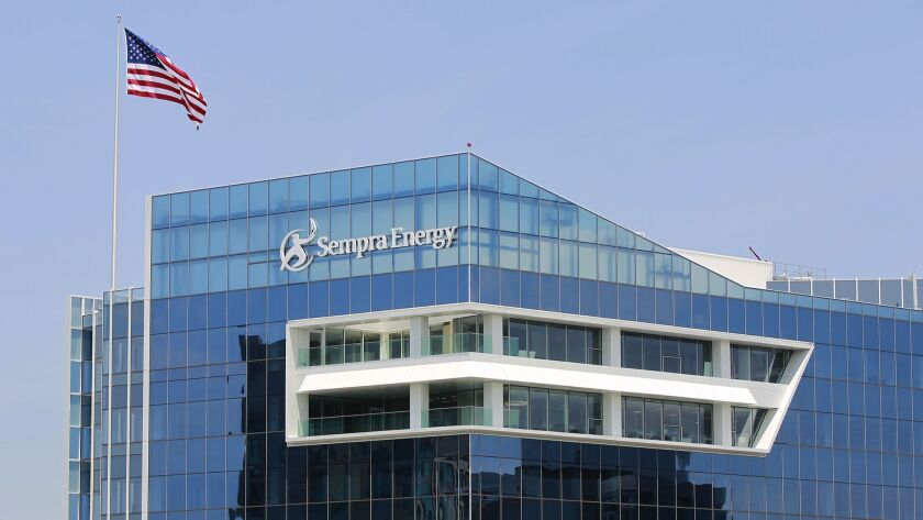 Sempra Energy's corporate headquarters in downtown San Diego.