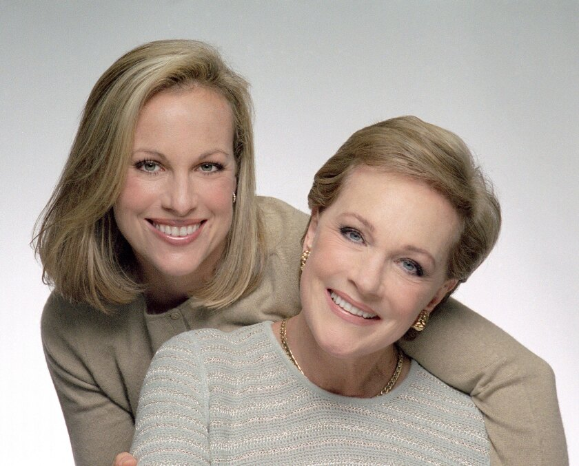 Julie Andrews and daughter Emma Walton Hamilton