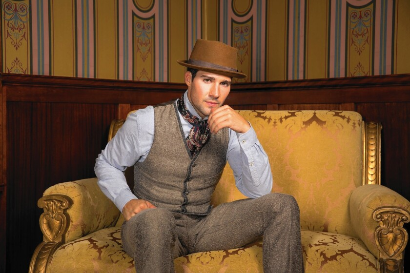 Big Time Rush's James Maslow graduates from 'pretty boy' roles as Watson in stage version of 'Sherlock Holmes'