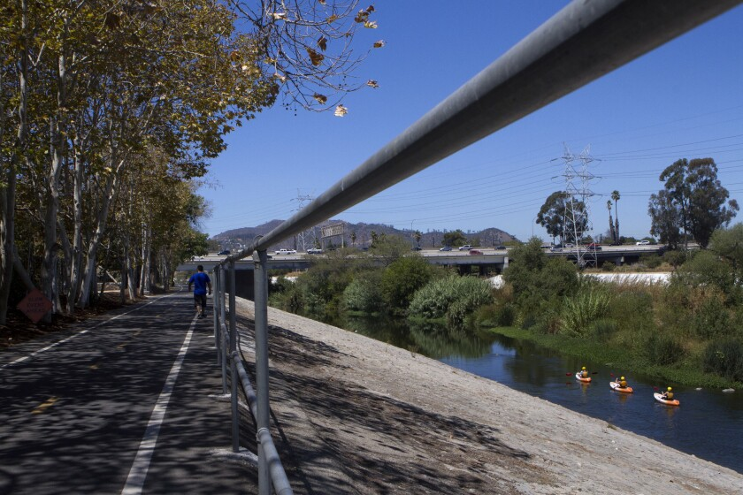 Earth Day idea: Learn the history and future of the L.A. River at Marsh Park on Saturday.
