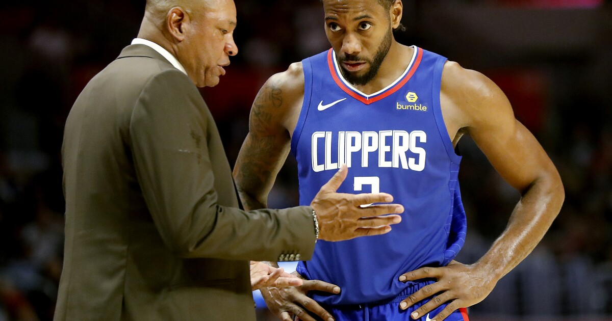 Column: Clippers needed a new floor general, not a new sideline general