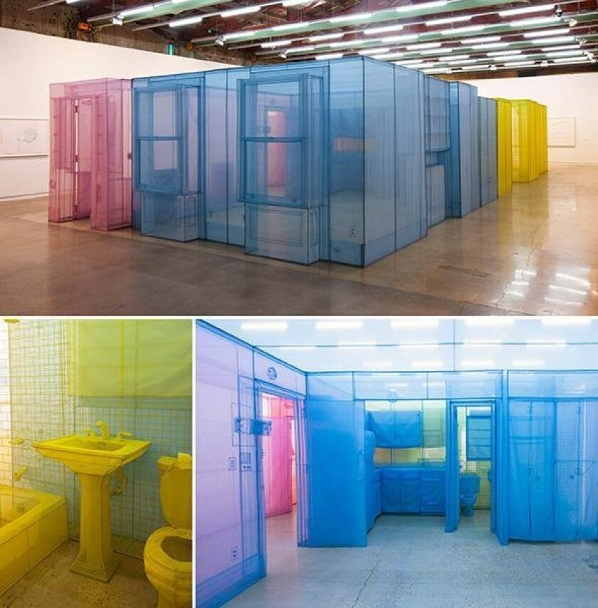 Work by Do Ho Suh