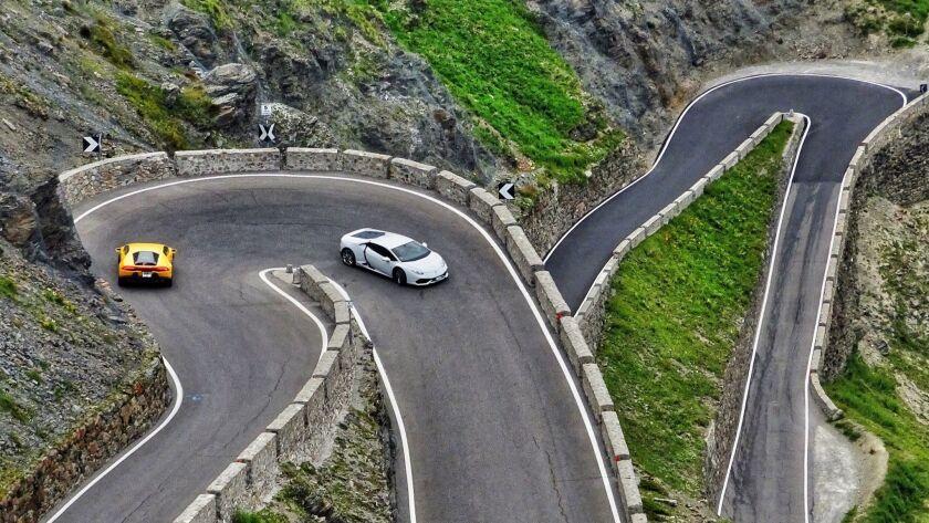 Readers photo issue 2018-- Stelvio Pass, Italy Dan Wyman, Oceanside. Dan Wyman and his brother took