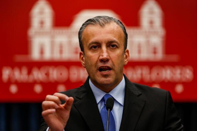 El vicepresidente del Área Económica del gobierno de Venezuela, Tareck el Aissami. EFE/Archivo