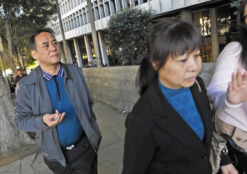 Parents of slain USC student