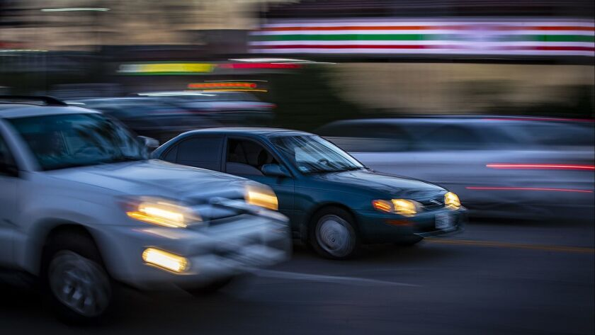 Speed limits are going up in L A  so that police can write