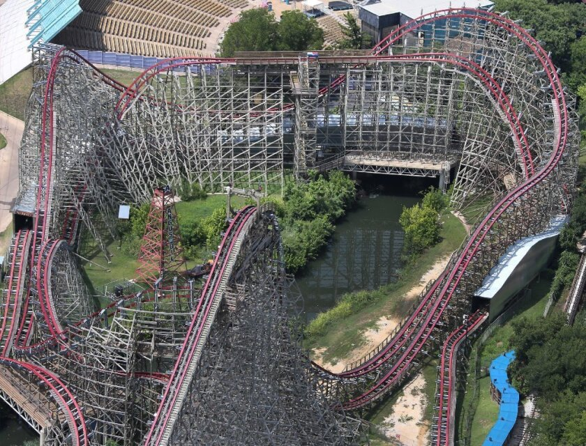 A visitor to Six Flags Over Texas fell to her death from the Texas Giant roller coaster last week. The investigation will be conducted by the park company itself.