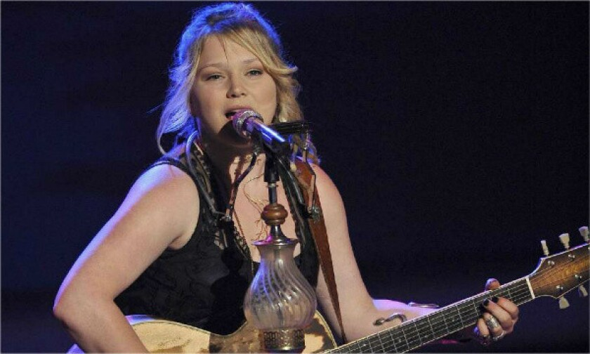 """Singer Crystal Bowersox, who was a finalist on Fox's """"American Idol,"""" has been tapped to play country star Patsy Cline on Broadway."""