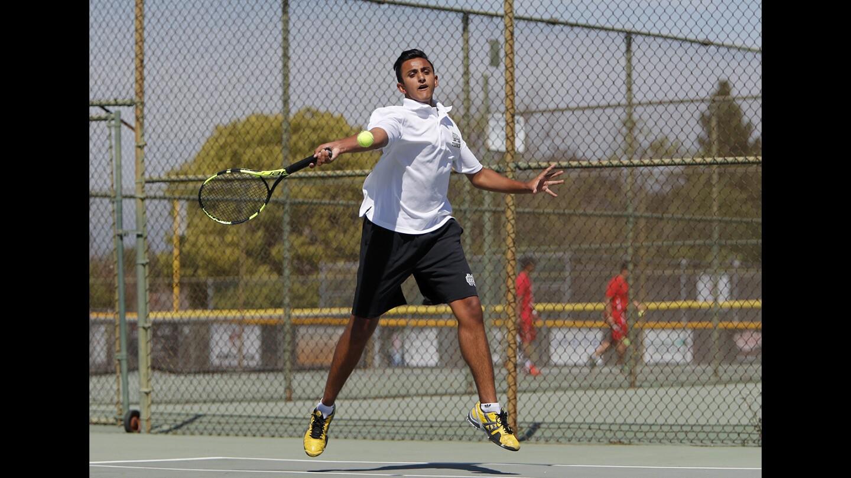 Photo Gallery: Costa Mesa vs. Santa Ana in boys' tennis
