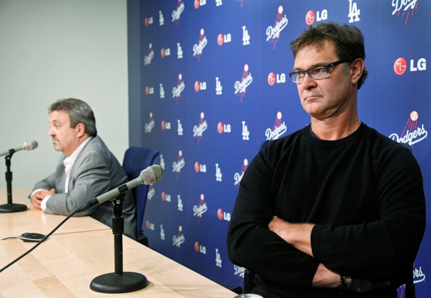Don Mattingly says Dodgers' contract 'doesn't mean I'll be back'