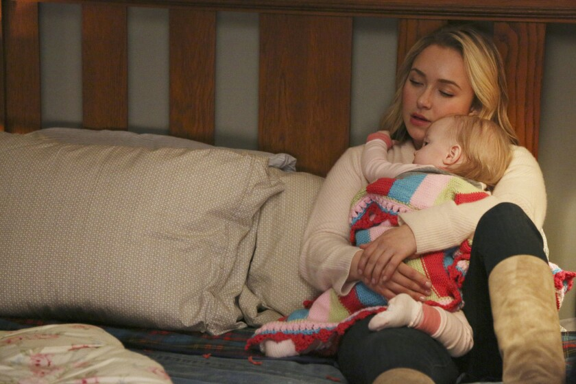 """Hayden Panettiere has dealt with postpartum depression in real life and in her role as Juliette Barnes on ABC's """"Nashville."""""""