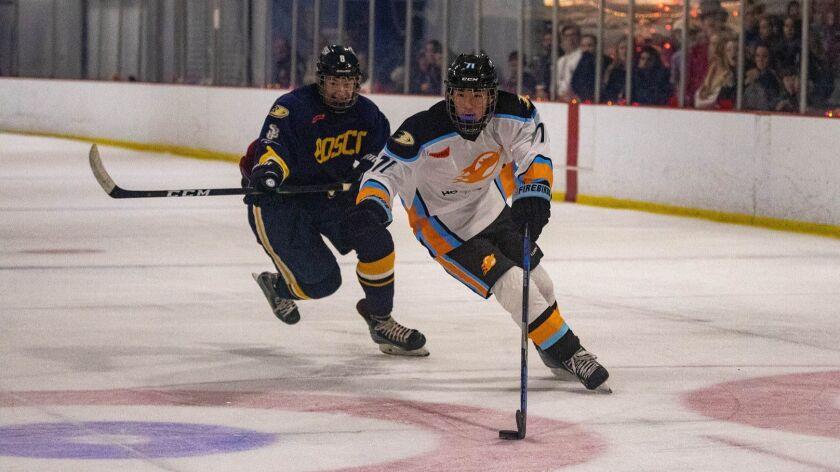 William Schneider (71), Pacific Ridge School ice hockey