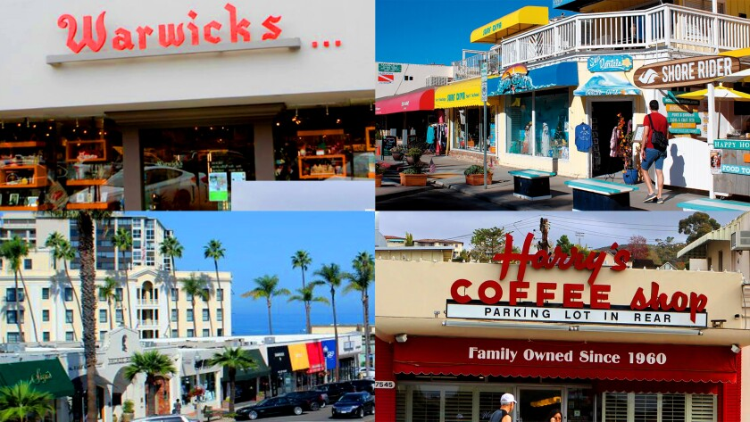 Many of the businesses in the Village of La Jolla are independently owned and operated by local residents.