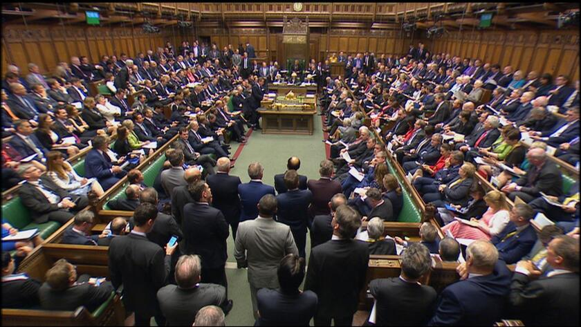 British Prime Minister David Cameron, center left, addresses the House of Commons in London in June. Cameron is stepping down after British voters' decision to leave the European Union.