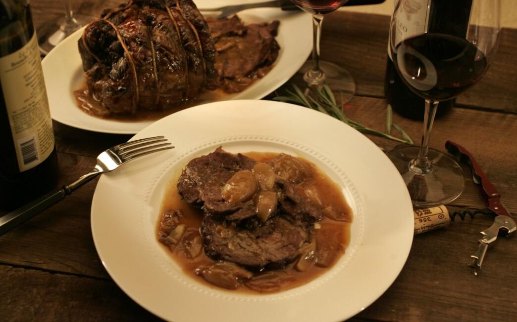 Dario Cecchini's marrow-braised beef
