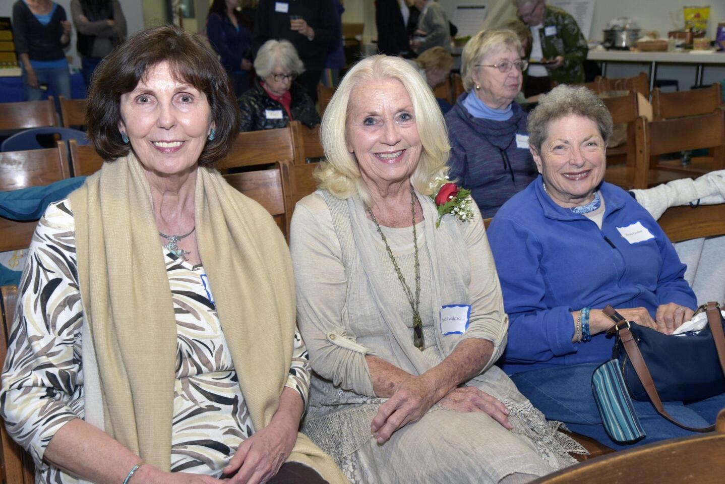 Sharon Luther, founder Paula Henderson, Rhona Gordon