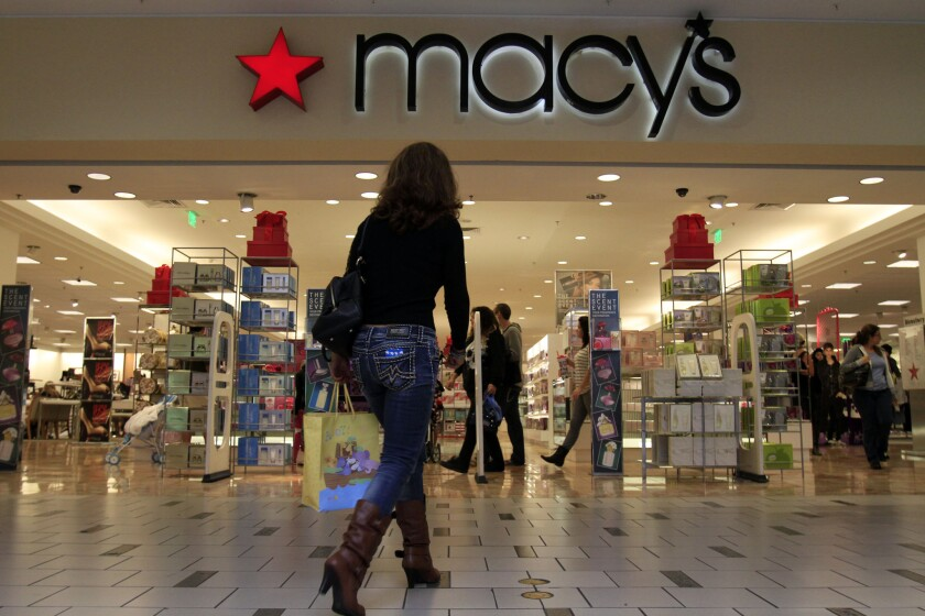 Macy's will open its doors at 8 p.m. Thanksgiving Day, kicking off its Black Friday deals early.