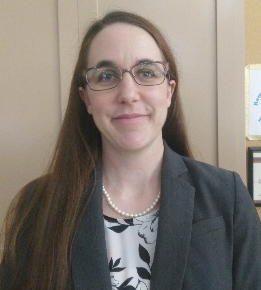 Andrea Boehling is a manager for the independent consulting firm Raftelis Financial Consultants, which recommended the Ramona Municipal Water District increase its rates and fees for water services.