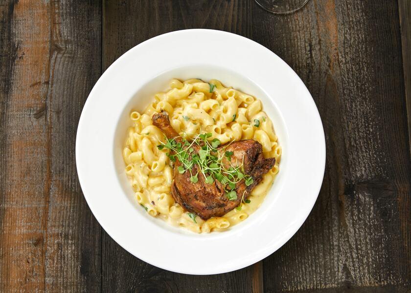 Duck Mac & Cheese from Feast & Fareway