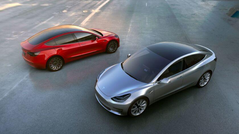 Tesla Model 3 prototypes