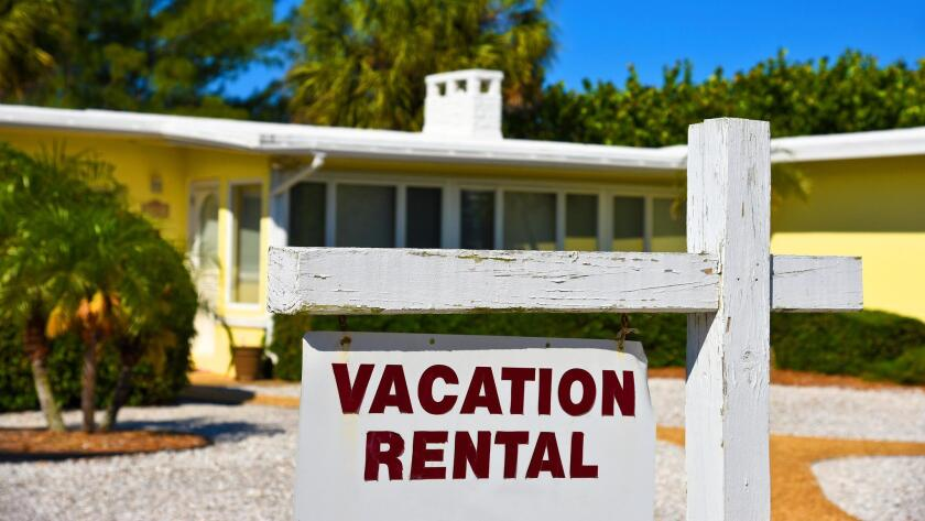 """""""The conversion of houses or condos into de facto motels, no matter how well-managed, is a venereal disease spreading within the so-called 'sharing economy.' STVRs (short-term vacation rentals) in typical family neighborhoods are a pox on all our houses,"""" says Logan Jenkins."""