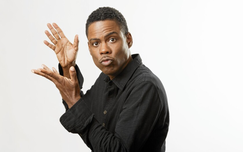 Chris Rock at the Four Seasons Beverly Hills hotel.