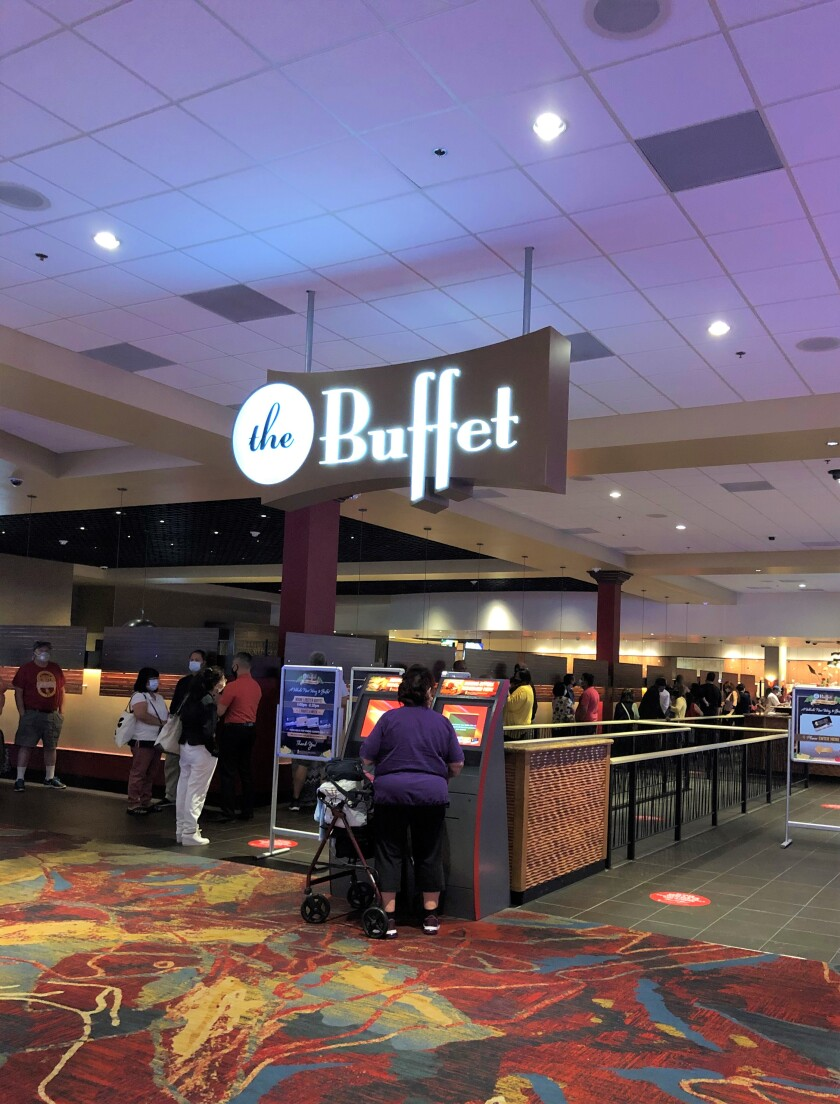 The Buffet at Valley View Casino