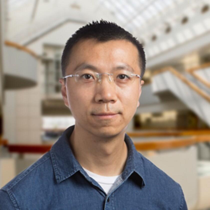 Scripps Research scientist Peng Wu