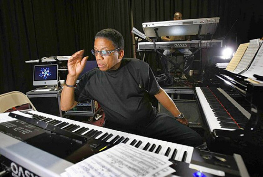 Herbie Hancock has influenced at least two generations of jazz, funk, hip-hop and electronic music artists.