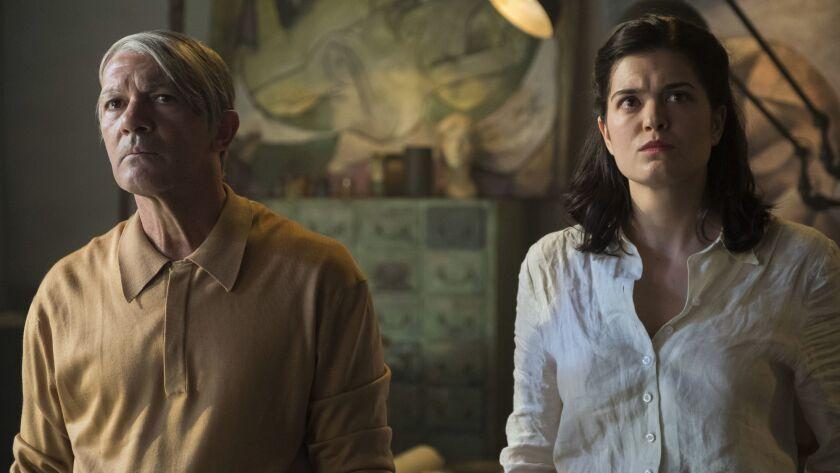 """Antonio Banderas and Samantha Colley in """"Genius"""""""